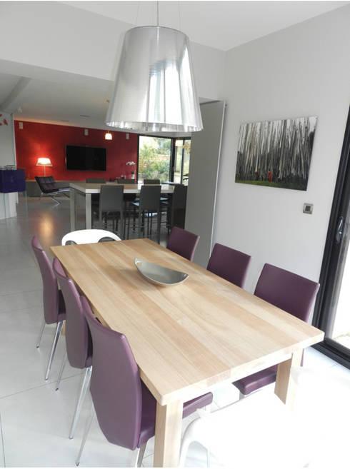 Exemples de réalisations de particulier: Salle à manger de style  par Idées dans la maison