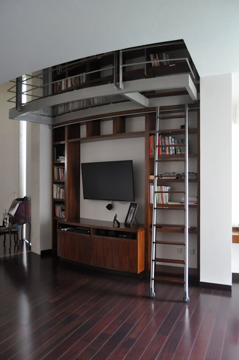 CASA AGULU: Estudios y oficinas de estilo moderno por Vito Ascencio y Arquitectos
