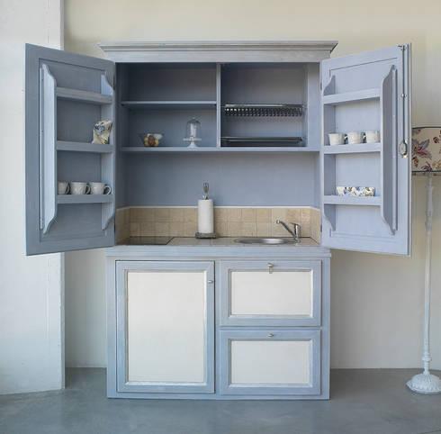 Minicucina attrezzata di la bottega del falegname homify - Minicucina ikea varde cucina armadio ...