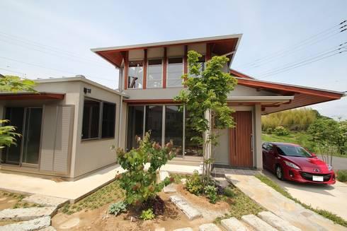 霞ヶ浦の家: 大出設計工房 OHDE ARCHITECT STUDIOが手掛けた家です。