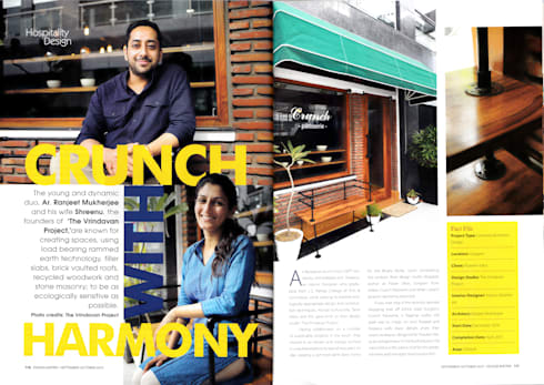 Crunch Patisserie:   by The Vrindavan Project