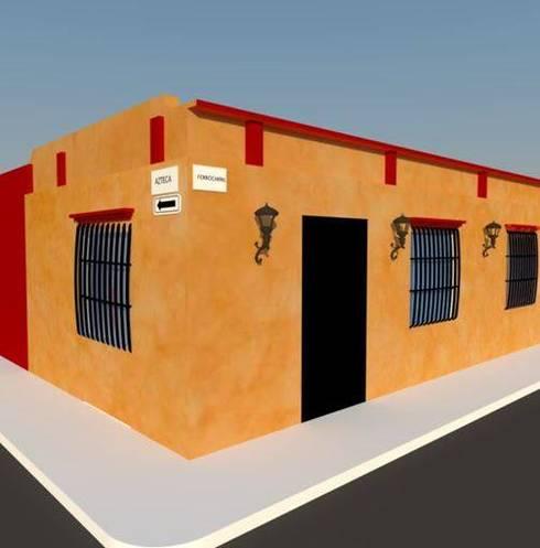 Diseños G2 : Casas de estilo moderno por DISEÑOS G2