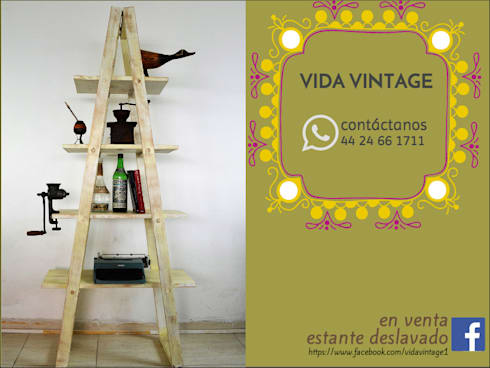 Vida Vintage: Hogar de estilo  por Vida Vintage
