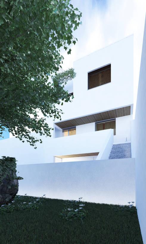 Casa SN: Casas modernas por Rúben Ferreira | Arquitecto