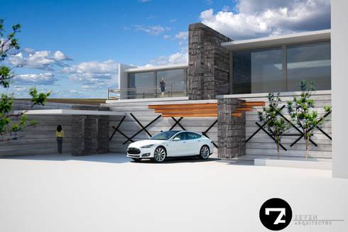Proyectos Interiorismo: Casas de estilo moderno por Seven Arquitectos