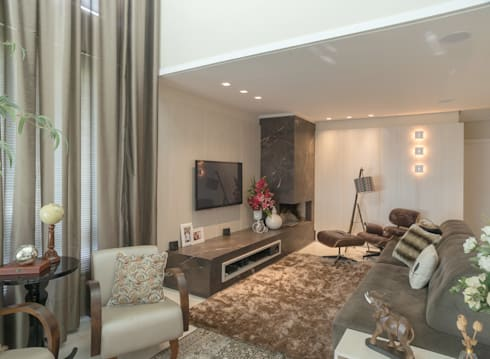 sala de estar: Salas de estar modernas por ND HAUS