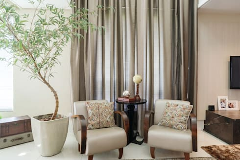 sala estar: Salas de estar modernas por ND HAUS