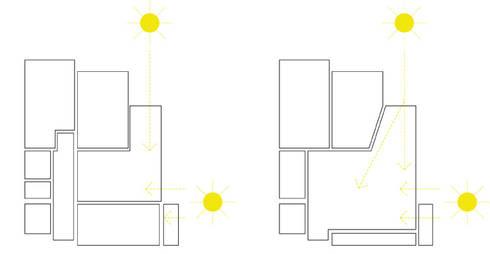 Diagramas de Iluminação:   por Atelier Alvalade