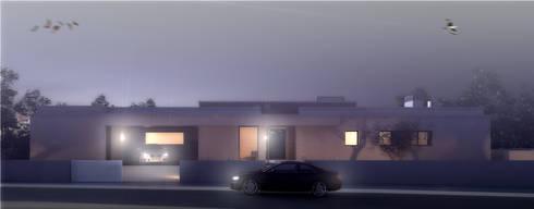 Casa SH: Casas modernas por Rúben Ferreira | Arquitecto