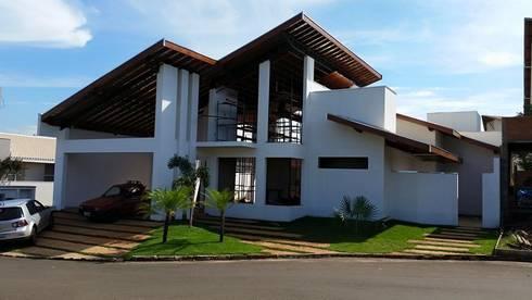 projeto: Casas rústicas por A3 arquitetos