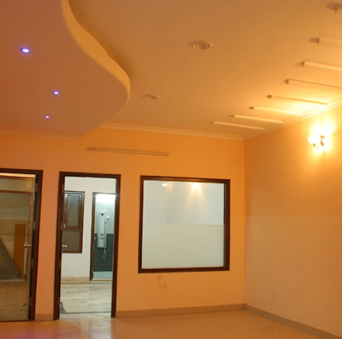 Furniture : modern Living room by ACI PROJECT INDIA PVT LTD