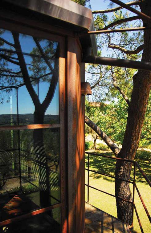 Casa sull 39 albero tree house di riccardo barthel homify for Casa sull albero firenze