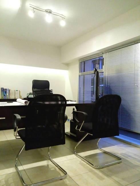 Alfa Studio Arquitectura: Estudios y oficinas de estilo moderno por alfa studio arquitectura