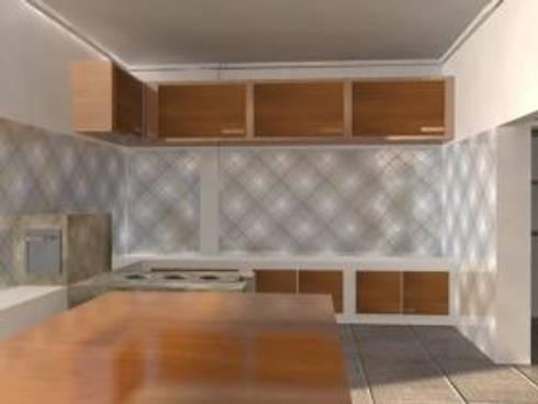 interiores: Cozinhas clássicas por EDUARDO GATTI ARQUITETURA