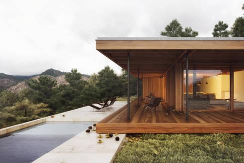 house in Gerês:   por nu.ma   unipessoal, lda - visualização 3D