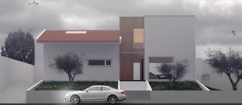 Casa LT: Casas modernas por Rúben Ferreira | Arquitecto