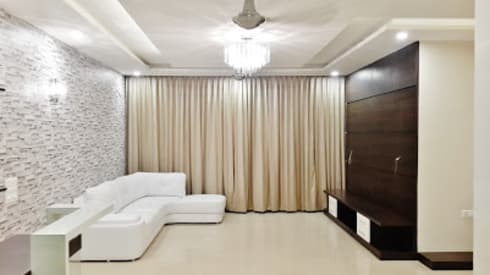 Apartment: modern Living room by Artis Interiorz Private Limited