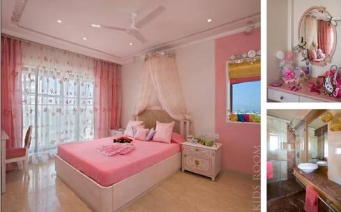 Apartment: modern Nursery/kid's room by archana_kejriwal