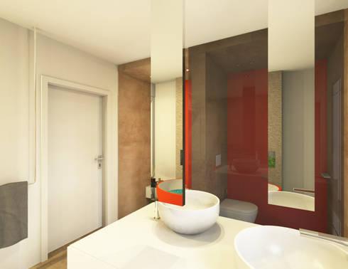 wellnessbad mit orangen farbtupfern von geliebtes bad homify. Black Bedroom Furniture Sets. Home Design Ideas