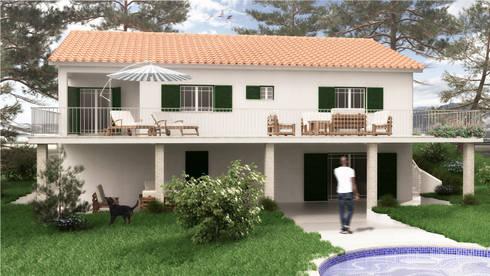 Casa PS | Modelação e Renderização 3D:   por Rúben Ferreira | Arquitecto