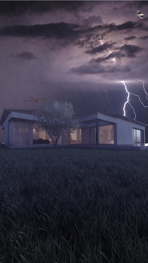Casa AA: Casas modernas por Rúben Ferreira | Arquitecto