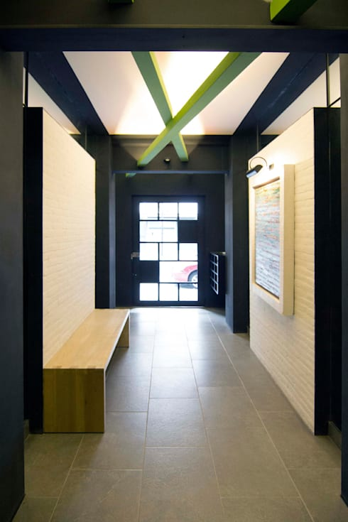 Edificio Yang Tse 13- Boué Arquitectos : Casas de estilo moderno por Boué Arquitectos