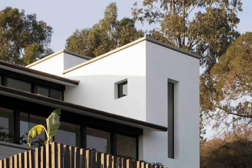 Casa Ixtapan de la Sal- Boué Arquitectos: Casas de estilo rústico por Boué Arquitectos