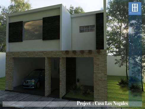 IH architecture&design: Casas de estilo moderno por IH Architecture & Design