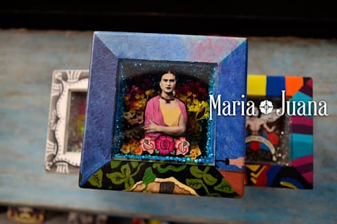 Muñecas de Trapo - María Juana Art: Hogar de estilo  por Maria Juana Art