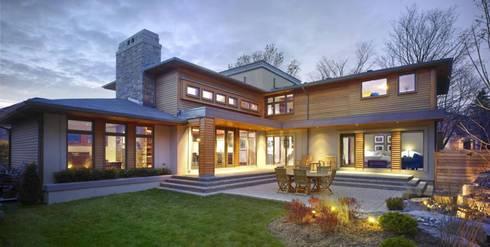 Arquitectura+: Casas de estilo moderno por Arquitectura +