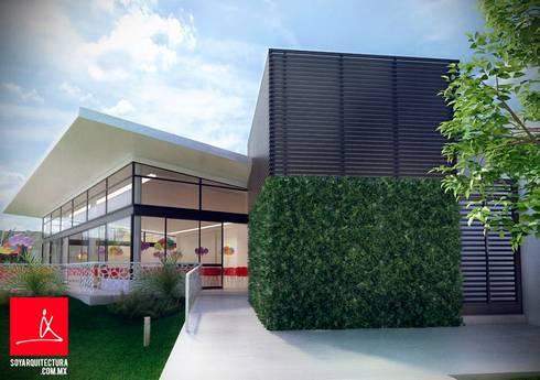 ¿Quienes Somos?: Jardines de estilo moderno por Soy Arquitectura