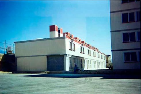 6424 Arquitectura Creativa: Casas de estilo moderno por 6424 Arquitectura Creativa