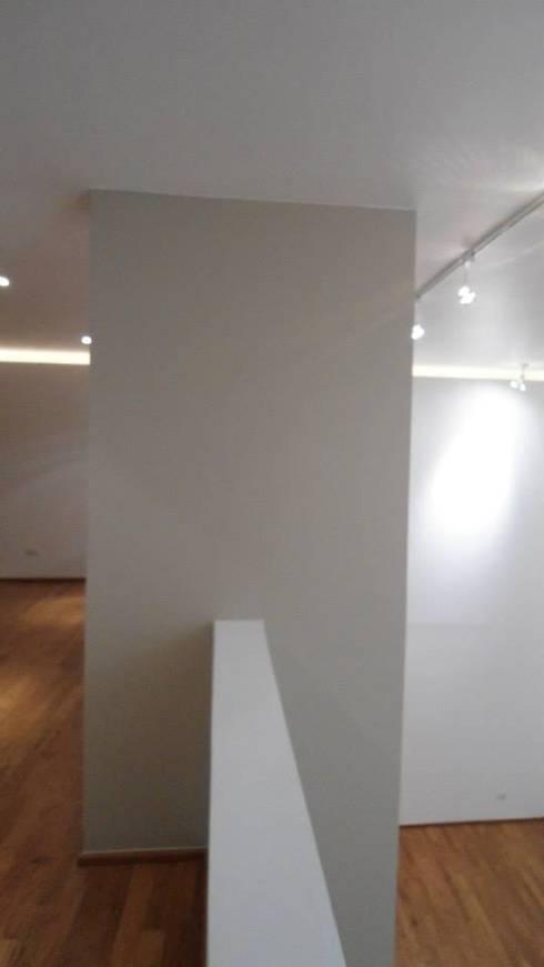 Torcuato Tasso#411-PH, Polanco: Pasillos y recibidores de estilo  por PI Arquitectos