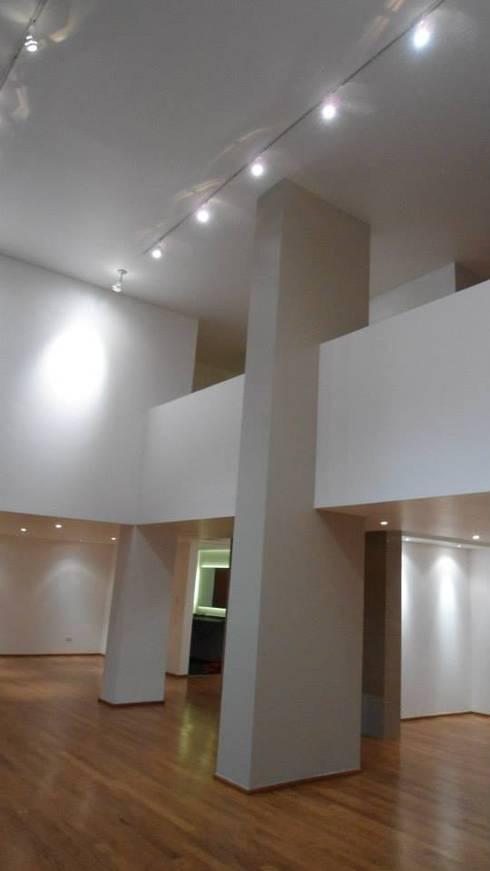 Torcuato Tasso#411-PH, Polanco: Salas de estilo moderno por PI Arquitectos