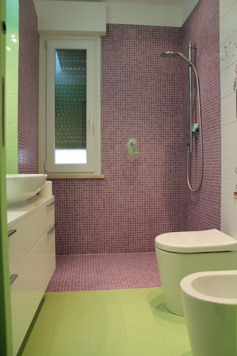 Baños de estilo  por Giuseppe Rappa & Angelo M. Castiglione