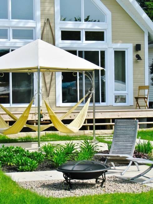 Garden  تنفيذ Trinity hammocks