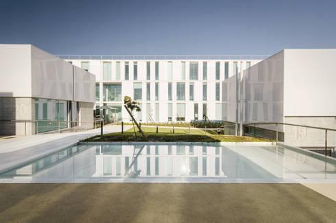 Elderly persons residence: Casas mediterrânicas por guedes cruz arquitectos