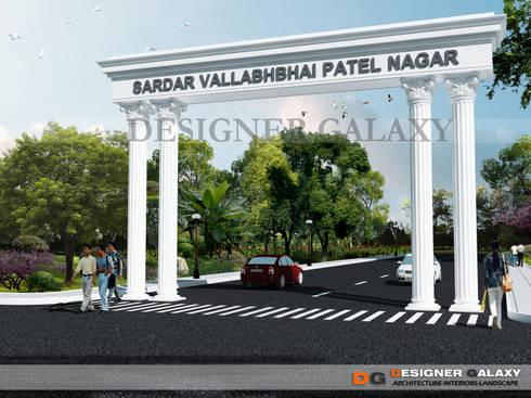 Island Design: modern Garden by DESIGNER GALAXY