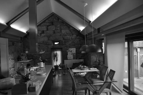 Antes da Intervenção: Cozinhas campestres por raul sousa cardoso arqt