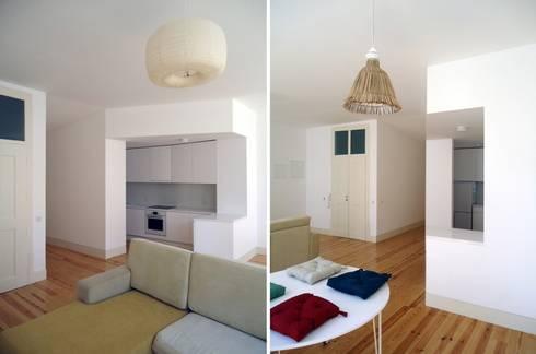 FOTOGRAFIAS: Salas de estar minimalistas por COLECTIVO arquitectos