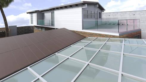 Diseño de Terraza y Techos: Terrazas de estilo  por Gabriela Afonso