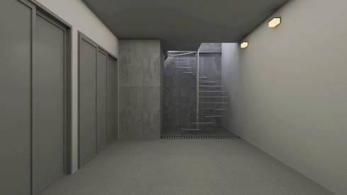 Diseño de Garage: Garajes y galpones de estilo moderno por Gabriela Afonso