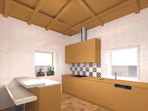 Cozinha: Cozinhas rústicas por LXL - Lisbon Lifestyle