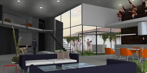 Interior:  de estilo  por VIVAinteriores