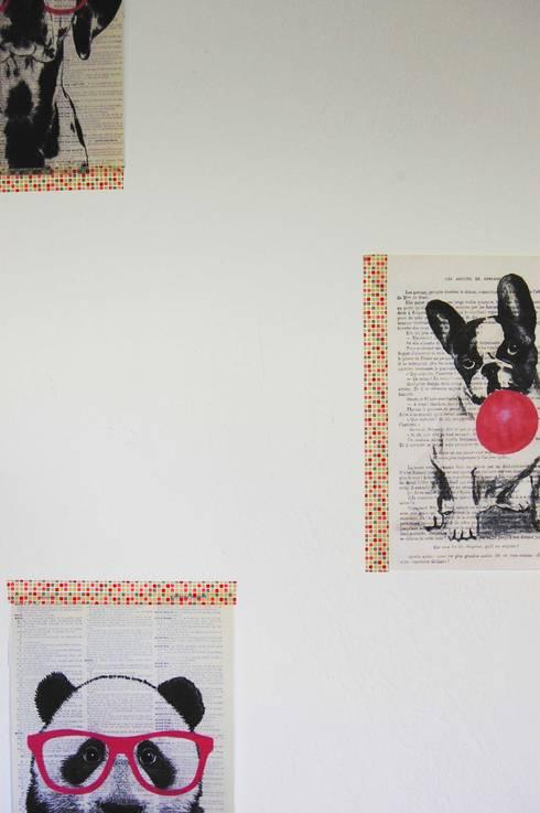 Nid douillet pour bébé: Chambre d'enfant de style  par Pièces d'identité