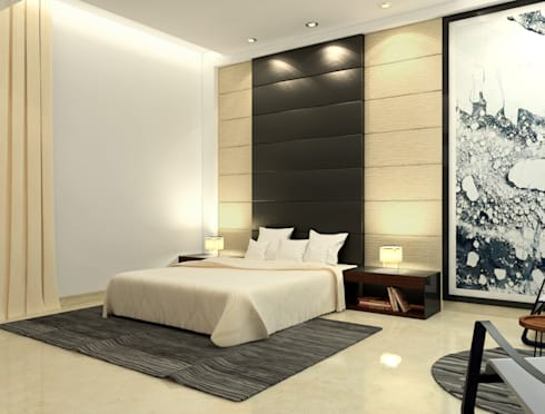 Suneja Residence: modern Bedroom by Space Interface