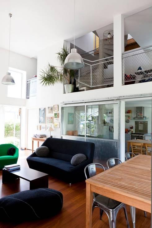 Les herbiers: Salon de style  par Block Architectes