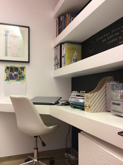 Estudios y despachos de estilo moderno de piano a