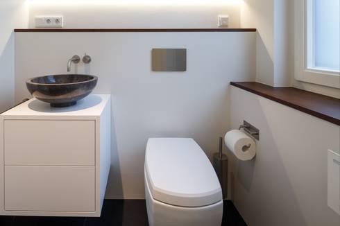 Gästetoilette gästetoilette modern by kjubik innenarchitektur homify
