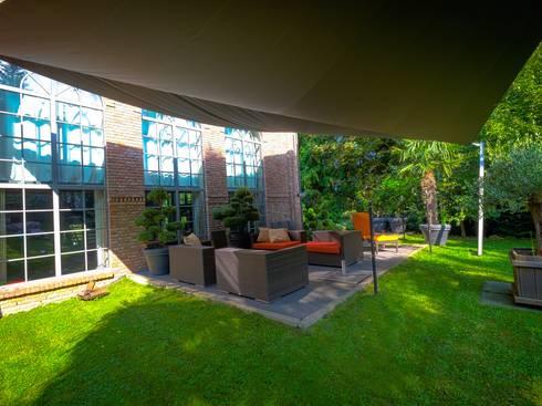 sonnensegel in elektrisch aufrollbar bad harzburg von pina gmbh sonnensegel design homify. Black Bedroom Furniture Sets. Home Design Ideas